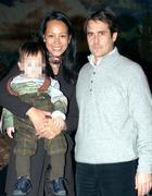 Dong Mei Xiao, 42 anni, con il marito il commercialista Federico Di Lauro, 47 anni