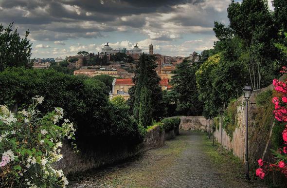 Le foto entrate in classifica del concorso i tetti di roma - Il giardino degli aranci ...