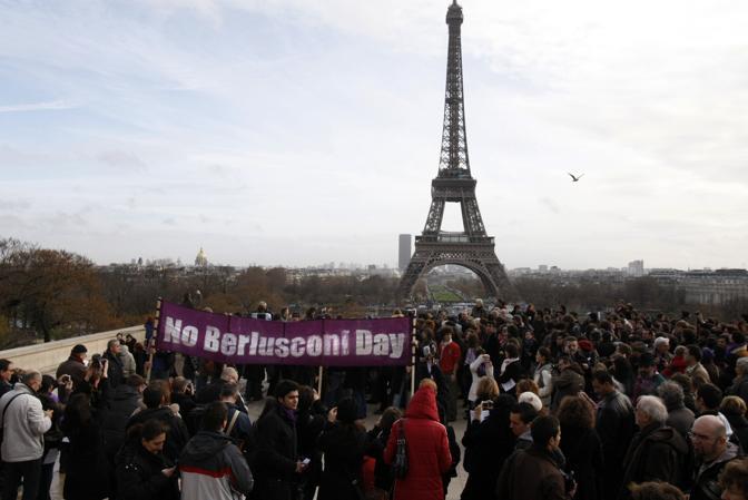 La manifestazione di Parigi (Ap Photo)