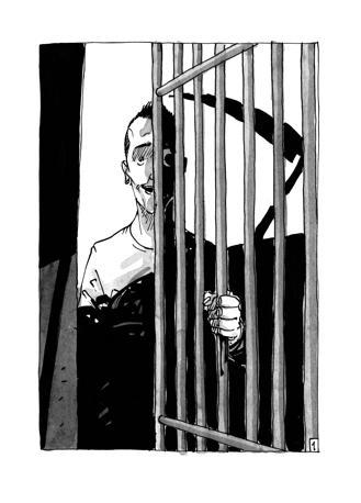 Fumetti disegnati da Toni Bruno. I testi del libro sono di Luca Moretti