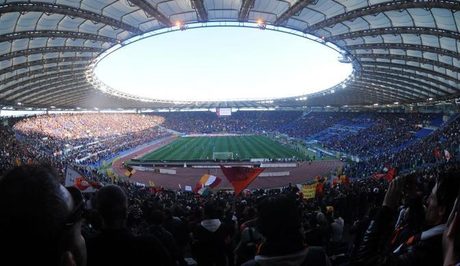 Lo stadio Olimpico (Plpress)
