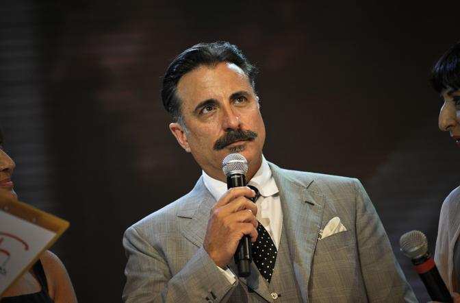 Andy Garcia,  star internazionale del «Roma Fiction Fest 2010» (Ansa)
