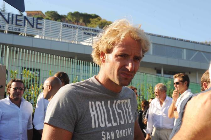 Il campione di nuoto Massimiliano Rosolino: anche lui chiede la riapertura dell'Aquaniene (Proto)