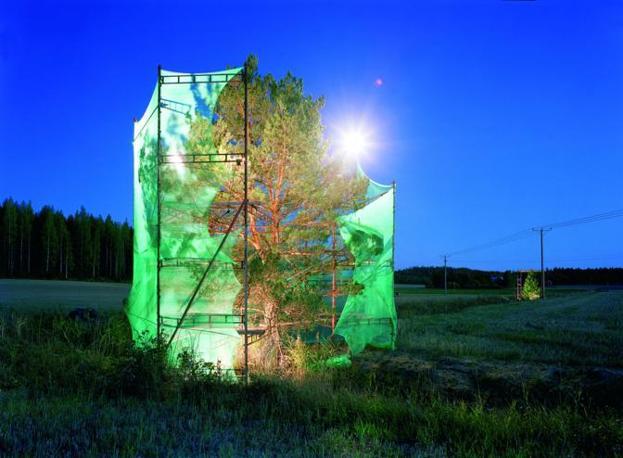 Ilkka Halso nella sezione �Bumpy Ride�, la mostra dedicata al futuro immaginato