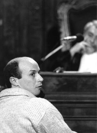 12 settembre 1984. Sergio Calore al processo Nar per terrorismo (fotogramma)