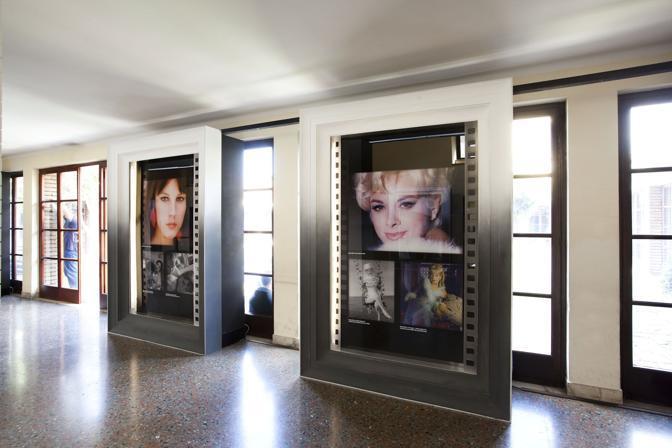 «Dive»: nella mostra in corso al centro Sperimentale di Cinematografia a Cinecittà, i volti delle grandi attrici italiane dai primi del '900 al neorealismo, dagli Anni '70 ai film in digitale