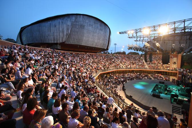 «36 hours in Rome», le tappe dell'itinerario suggerito dal New York Times nella Città Eterna: sopra, un concerto nella cavea dell'Auditorium disegnato da renzo Piano (foto Musacchio)