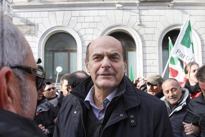 Il segretario del Pd Pierluigi Bersani (BlowUp)