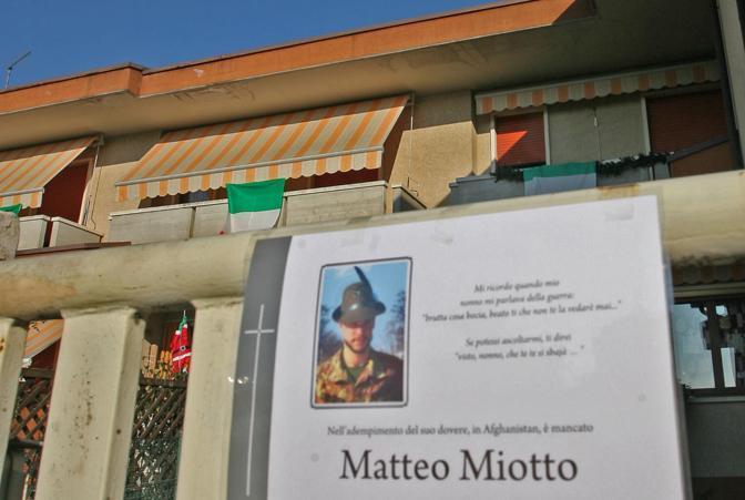 Nella casa a Thiene in provincia di Vicenza (Ansa)