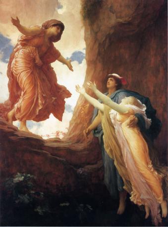 Frederic Leighton  «Il ritorno di Persefone»,1891 Olio su tela