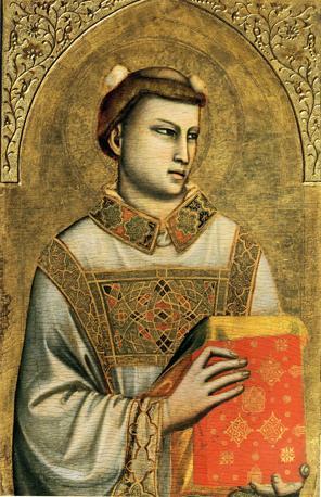 IL MITO -Giotto «Santo Stefano», c.1330-1335 Tempera su tavola