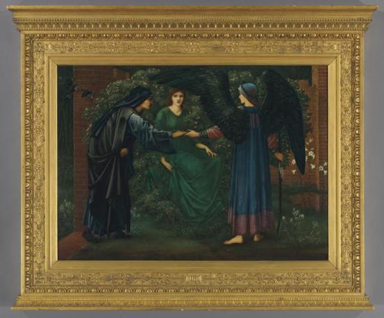 Burne-Jones Edward «Il cuore della Rosa», 1889 Olio su tela