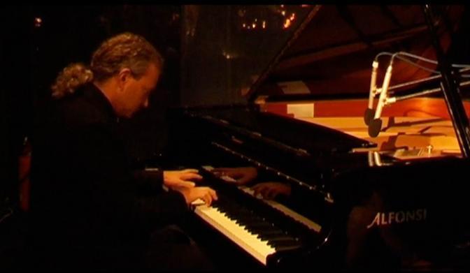 Il pianista dell'Orquesta Tìpica Alfredo Marcucci, Marco Fringuellino