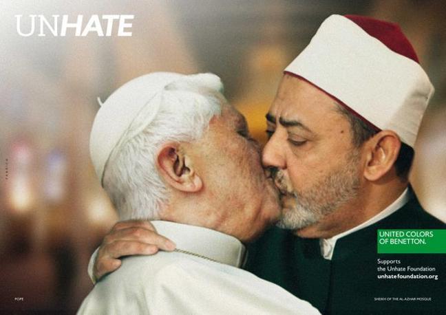 Il Papa Benedetto XVI e l'Imam del Cairo Ahmed el Tayyeb