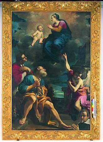 La Madonna della Ghiara con San Pietro-1618; Cento, Pinacoteca Civica