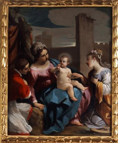 Sposalizio mistico di Santa Caterina1614-15 -Cento,Cassa Risparmio