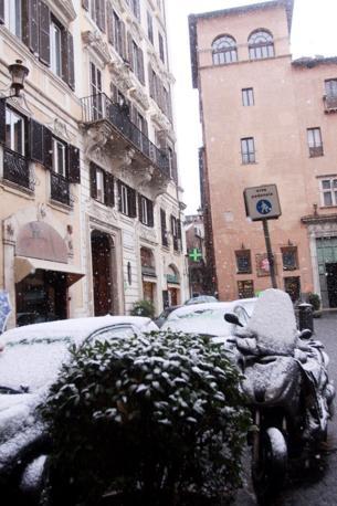 Piazza Capranica (Fotogramma)