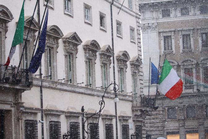 palazzo Chigi  (Fotogramma)