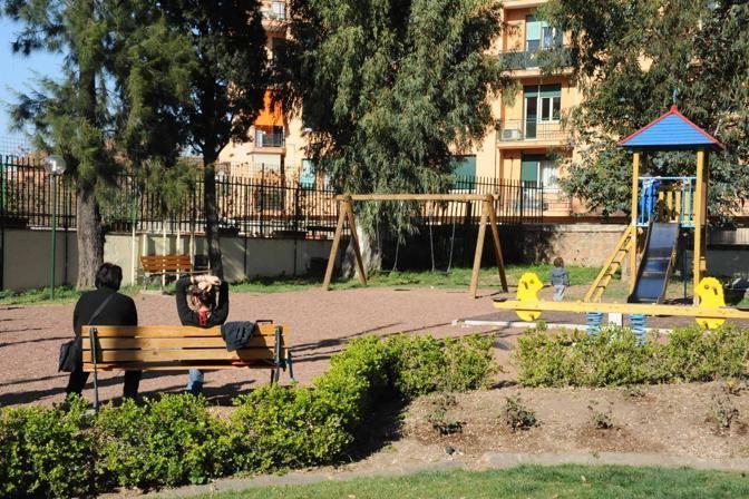 L'area giochi per bambini (Foto Proto)