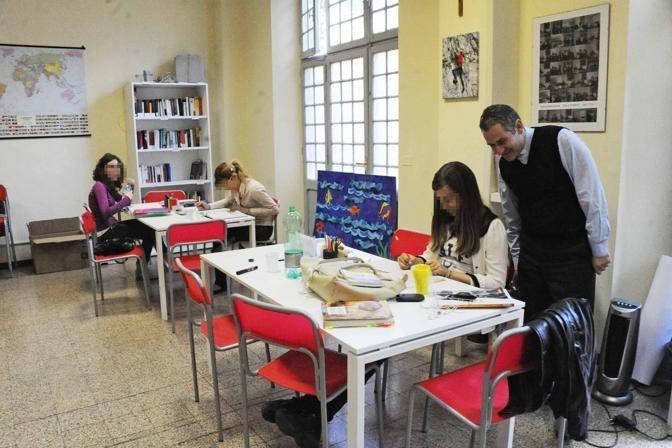 La sala studio (Foto Proto)