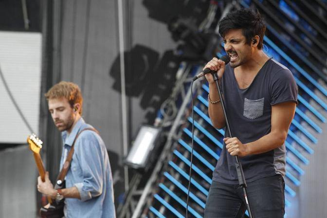 Young the giant  (LaPresse)