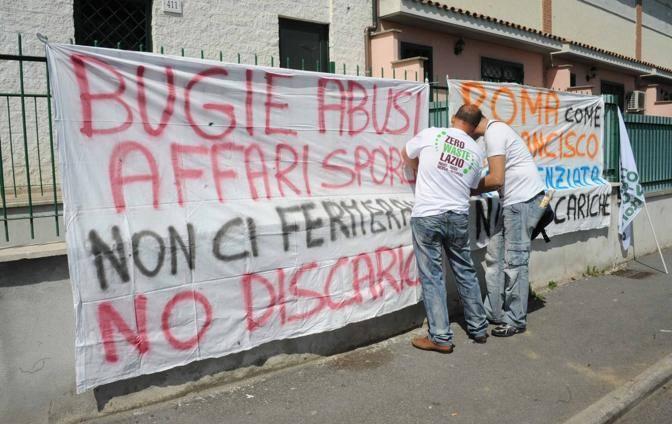 Un manifesto contro la discarica (Mario Proto)