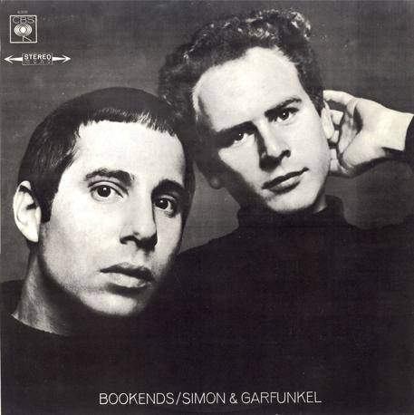 Il 33 giri «Bookends» di Simon & Garfunkel