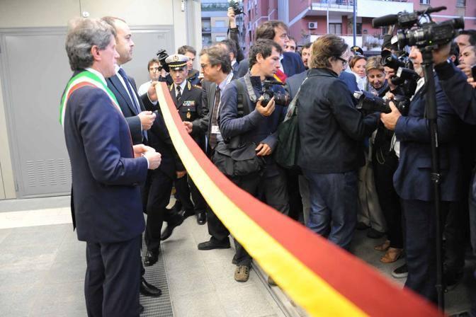 Aperta la linea B1: inaugurata la nuova tratta della metropolitana che da piazza Bologna prosegue fino a Conca d'Oro (foto Mario Proto)