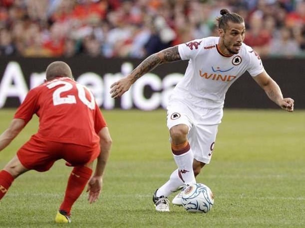Pablo Daniel Osvaldo e Jay Spearing (Ap Photo)