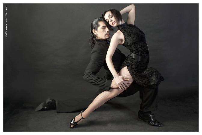 Alejandro Andri�n y Lida Mantovani