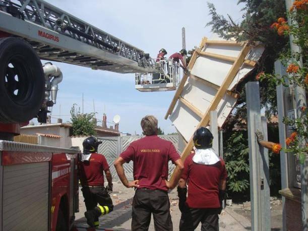 Numerosi interventi dei vigili del fuoco (Costantini)