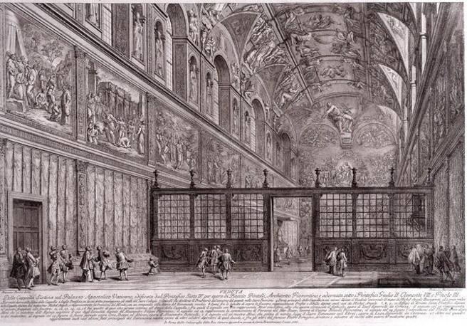 Prima della Sistina: in mostra alla Camera, i disegni preparatori di Michelangelo per la Cappella