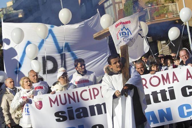 Il flashmob dei lavoratori dell'Idi (Jpeg)