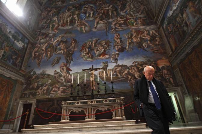 Il direttore dei Musei Vaticani, Angelo Paolucci (foto Benvegnù-Guaitoli © Musei Vaticani - Tutti i diritti riservati)