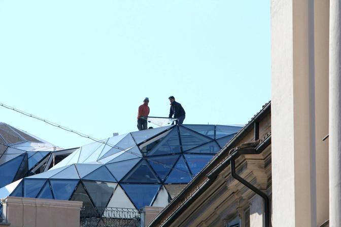La cupola di fuksas sul tetto del centro storico for Piani di cupola pdf
