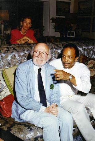 Con Quincy Jones
