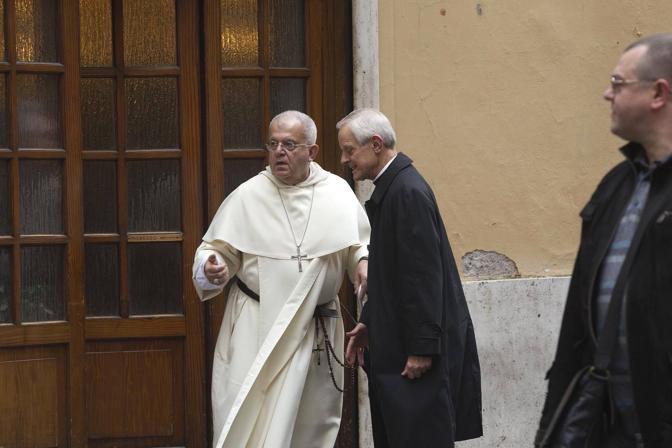 Il cardinale Wuerl era in compagnia di un altro religioso (foto Jpeg)