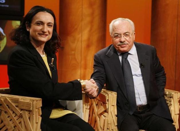Nel 2006 insieme con Vladimir Luxuria deputato di Rifondazione Comunista (foto Ap)