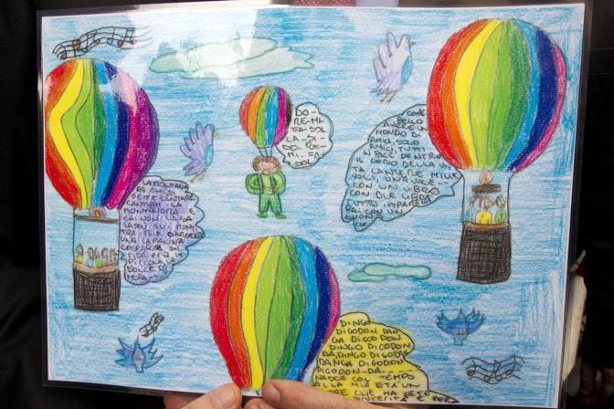 I disegni dei bambini per il 25 Aprile (foto Jpeg)
