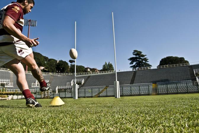 Il film è stato girato sul campo del Frascati Rugby