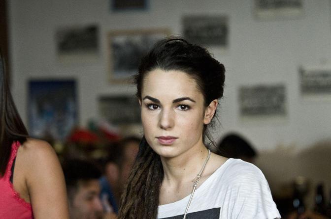 Margherita Laterza in una scena del film