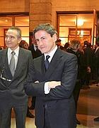 Il sindaco nel foyer dell'Opera (Jpeg)