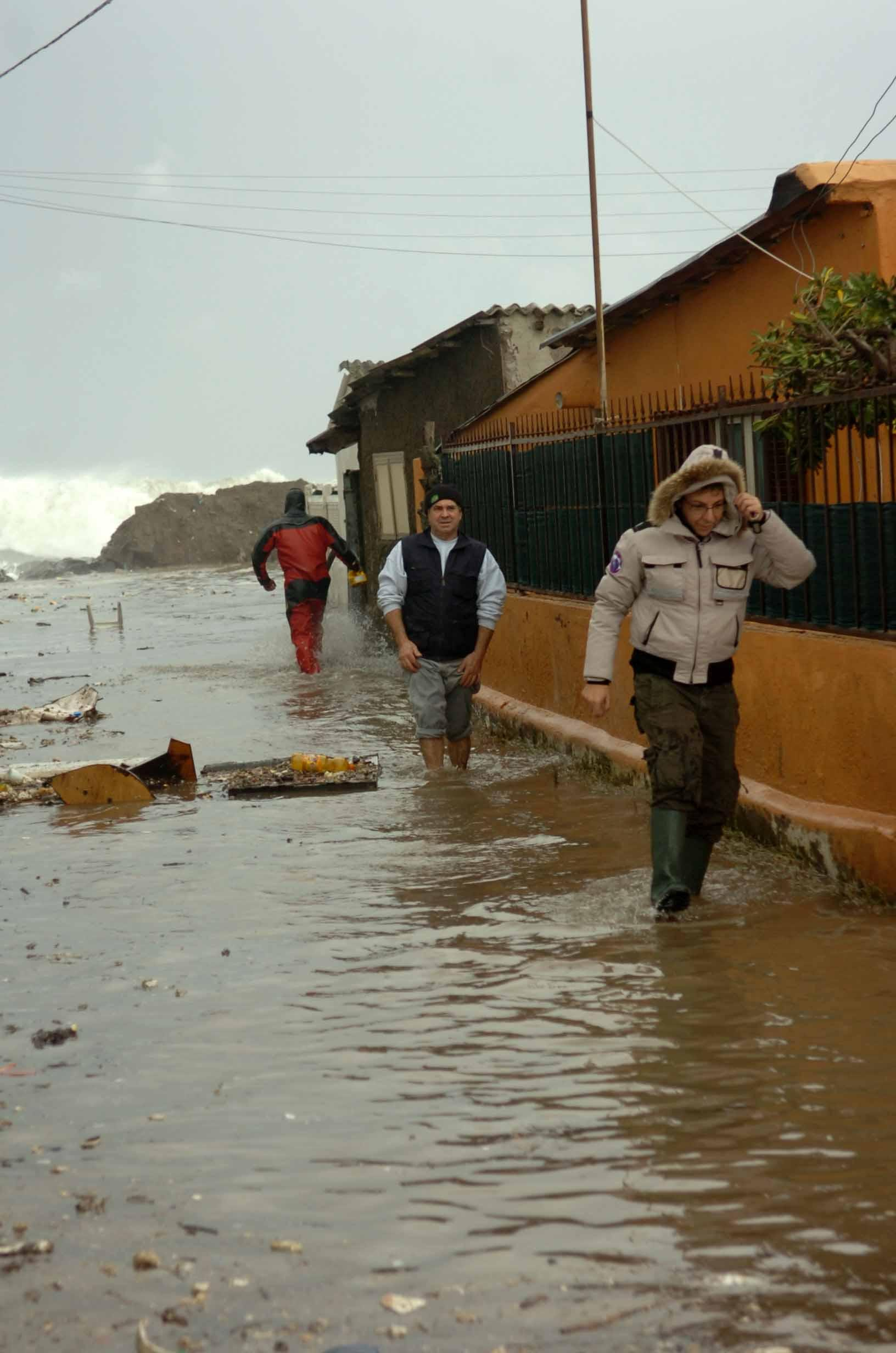 L'alluvione all'Idroscalo dello scorso novembre (Faraglia)