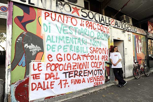 Solidarietà Dal Basso   Il Centro Sociale Spartaco Di Via Selinunte 57  (zona Quadraro)