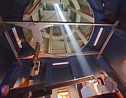 Monte Mario, interno della Torre solare (Jpeg)