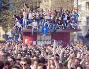 Il pubblico del concerto a piazza S.Giovanni (Eidon)