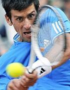Gli ultimi colpi prima della vittoria di Djokovic (Reuters)