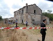 Il casolare dove avvenne la violenza (foto Proto)