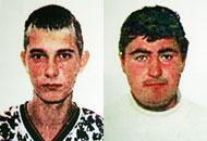 I due romeni condannati per la violenza: Bohus (a sinistra) e Petre