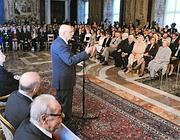 Napolitano riceve il cinema italiano (Ansa)